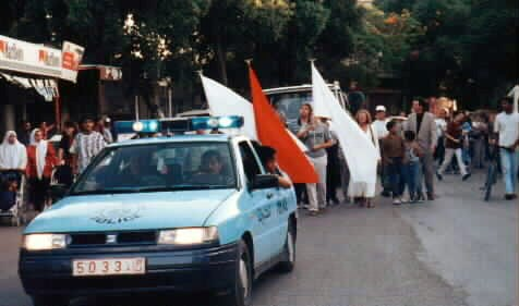 Terry arranged the first Christian parade in a predominate Islamic community in 1996